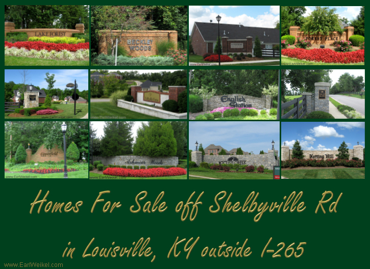 Homes For Sale Off Shelbyville Rd Louisville KY Houses Condos Patio Homes  Outside I 265 Gene Snyder Freeway